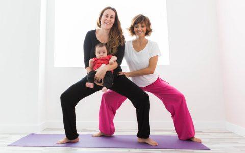 yoga mamás y bebés