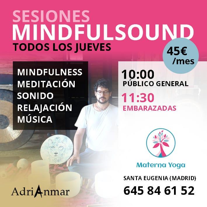 mindfulness + sonido + relajación